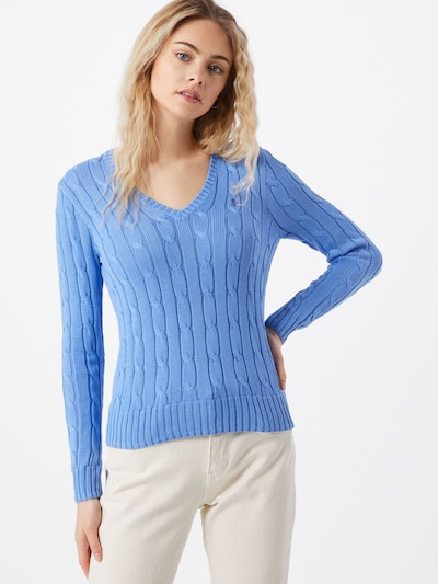 POLO RALPH LAUREN Sweater 'KIMBERLY' in Light blue, View model