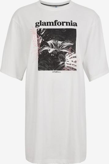 O'NEILL T-Shirt in rosa / schwarz / weiß, Produktansicht