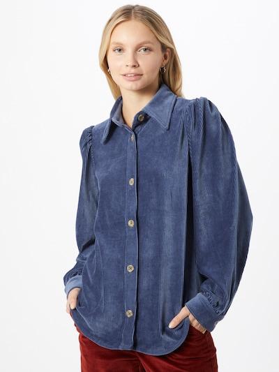 Palaidinė 'Freya' iš modström , spalva - mėlyna, Modelio vaizdas