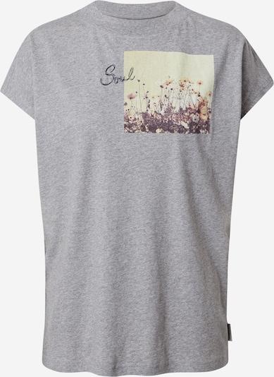 Maloja Tričko 'Gleditsche' - šedý melír / mix barev, Produkt