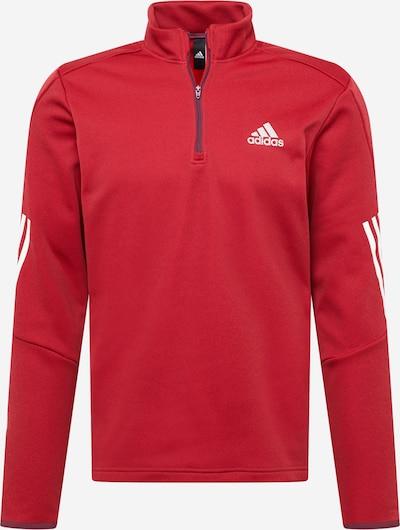 ADIDAS PERFORMANCE Sportshirt in grau / rot / weiß, Produktansicht