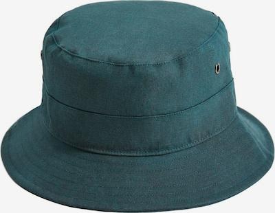 MANGO MAN Hut 'Bucket' in smaragd, Produktansicht