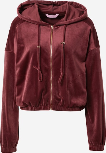 ABOUT YOU x hunkemöller Sweat jacket in Wine red, Item view