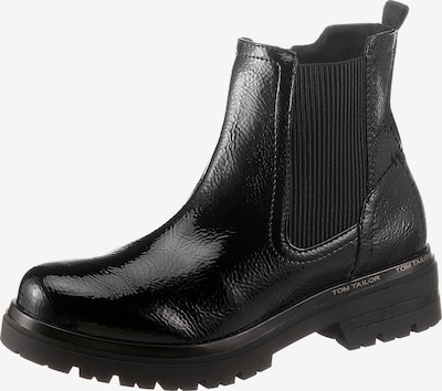 Tom Tailor FM Chelsea Boots in schwarz, Produktansicht