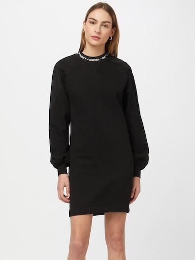 DIESEL Šaty 'TULLY' - černá / bílá, Model/ka