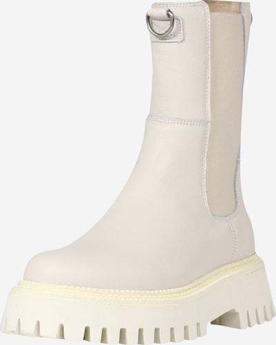 BRONX Kozačky 'Groov-Y' - černá / barva bílé vlny, Produkt