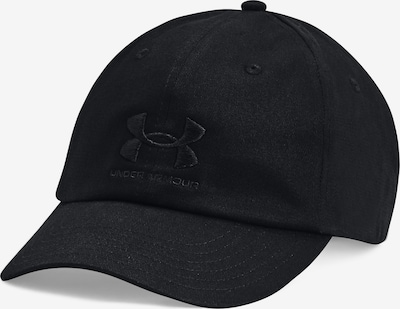 UNDER ARMOUR Sportpet in de kleur Donkergrijs / Zwart, Productweergave