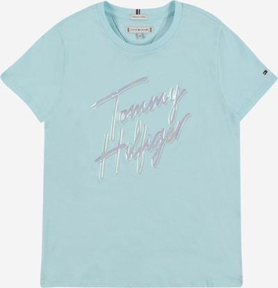 TOMMY HILFIGER Тениска в опушено синьо / лилав, Преглед на продукта