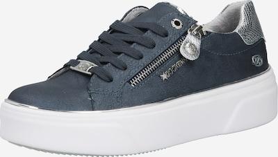 Dockers by Gerli Baskets basses en bleu-gris / argent / blanc, Vue avec produit
