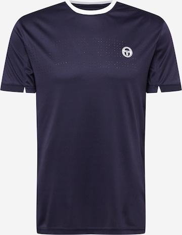 T-Shirt fonctionnel Sergio Tacchini en bleu