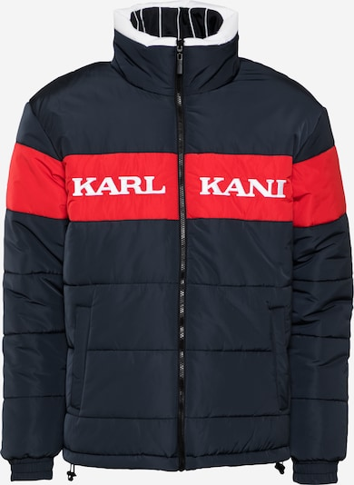 Karl Kani Kurtka zimowa ' Retro Block Reversible Puffer ' w kolorze niebieskim, Podgląd produktu