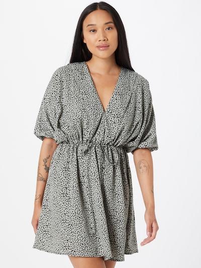 AX Paris Kleid in grau / schwarz, Modelansicht