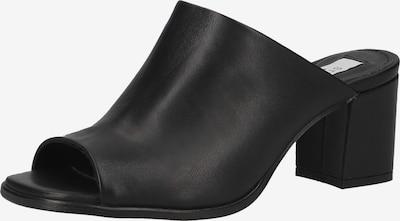 Steven New York Pantolette in schwarz, Produktansicht