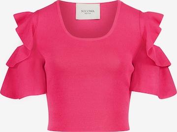 Nicowa Shirt 'INIDO' in Pink