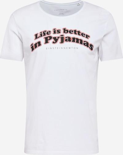 Tricou 'Pyjamas' EINSTEIN & NEWTON pe coral / negru / alb, Vizualizare produs