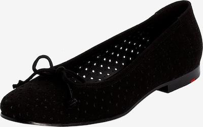 LLOYD Ballerina mit Schleife in schwarz, Produktansicht