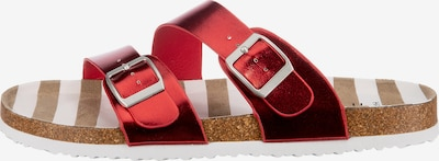 Inselhauptstadt Mules in Light brown / Red / White, Item view