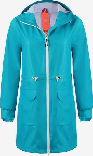 Dingy Rhythm Of The Rain Mantel 'Sherry' in blau, Produktansicht