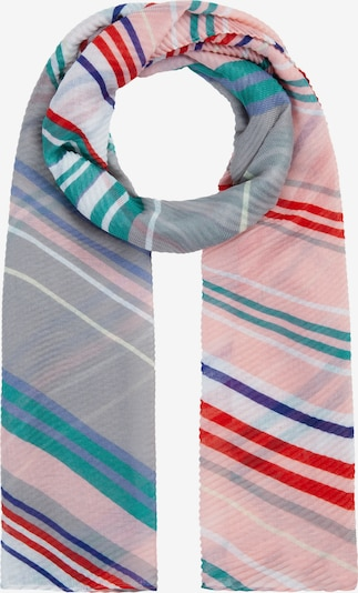CODELLO Schal in blau / grau / hellpink, Produktansicht