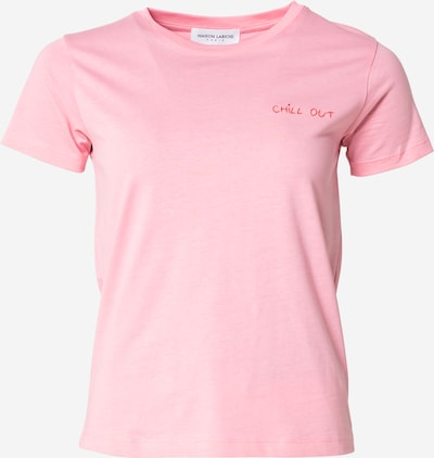 Maison Labiche T-Krekls 'Saint Mich', krāsa - rozā / sarkans, Preces skats