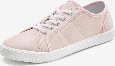 LASCANA Sneaker in pastellpink / weiß, Produktansicht
