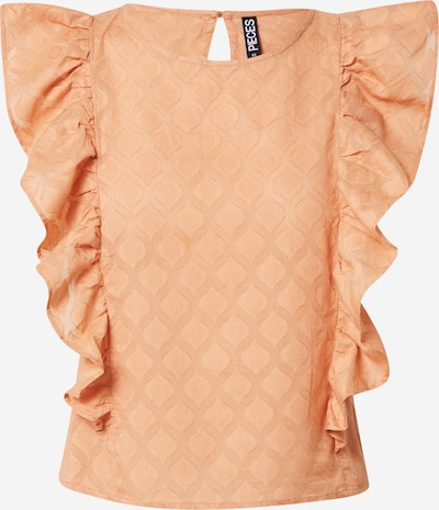 PIECES Bluse 'TANNA' in apricot, Produktansicht