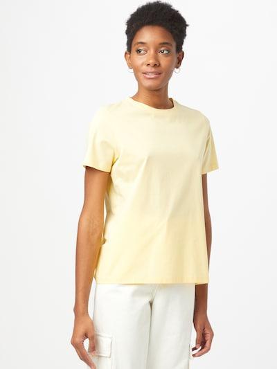 DRYKORN Тениска 'ANISIA' в пастелно жълто: Изглед отпред
