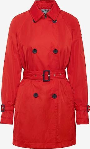 Manteau mi-saison GEOX en rouge
