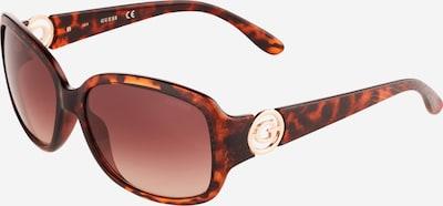 GUESS Sunčane naočale u smeđa / tamno smeđa, Pregled proizvoda