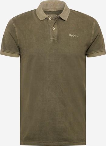 Pepe Jeans Μπλουζάκι 'VINCENT' σε πράσινο