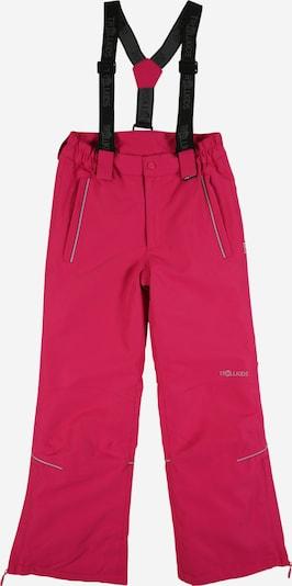 TROLLKIDS Skihose in pink / schwarz, Produktansicht
