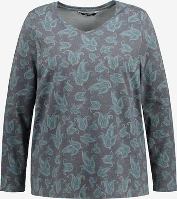 T-shirt Ulla Popken en gris