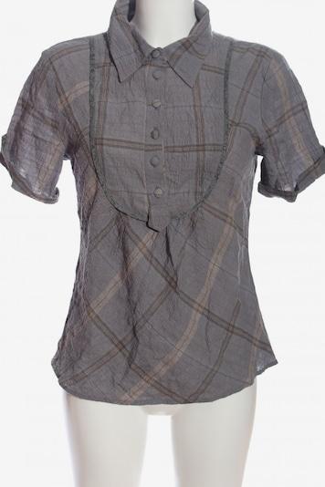 Vackpot Kurzarmhemd in XS in creme / hellgrau, Produktansicht