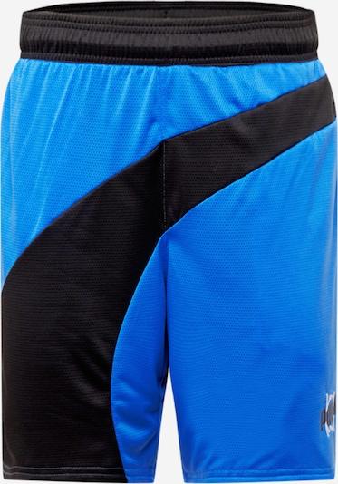 PUMA Pantalon de sport en bleu / bleu nuit, Vue avec produit