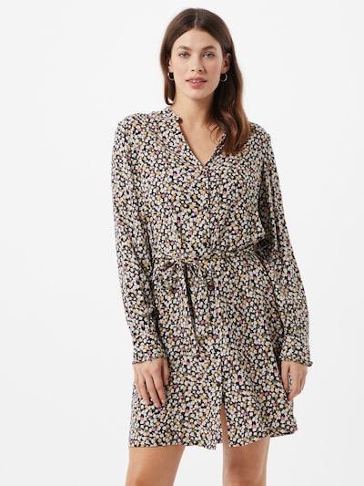 PIECES Kleid in mischfarben / schwarz, Modelansicht