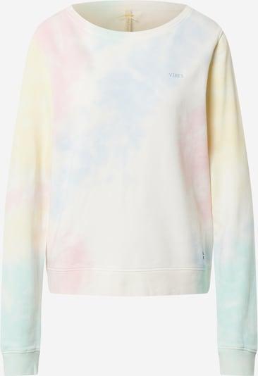 Key Largo Sweatshirt in hellblau / pastellgelb / pastellgrün / pastellpink, Produktansicht