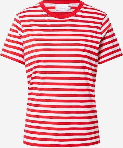 Maglietta Calvin Klein di colore rosso / bianco, Visualizzazione prodotti