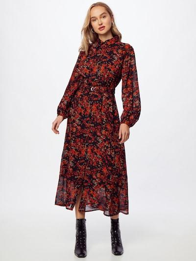 InWear Shirt Dress 'Barbel' in Grey / Red / Black, View model