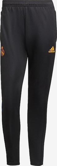 Pantaloni sport 'Real Madrid Tiro' ADIDAS PERFORMANCE pe portocaliu / negru, Vizualizare produs