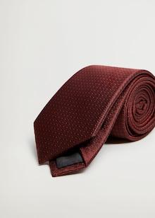 MANGO MAN Cravatta in bordeaux