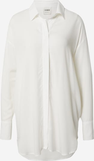 ABOUT YOU x Laura Giurcanu Bluse 'Elaine' in offwhite, Produktansicht