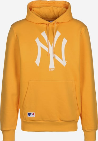 NEW ERA Sweatshirt  'MLB' in goldgelb / weiß, Produktansicht