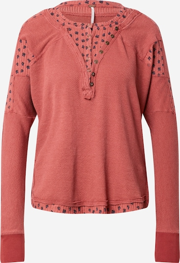 Free People Pullover 'HEART TO HEART' in navy / pitaya, Produktansicht
