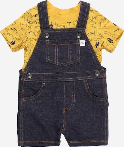 Carter's Set in de kleur Donkerblauw / Geel, Productweergave