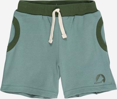FINKID Bikses 'ANKKA' gaiši zaļš / tumši zaļš, Preces skats