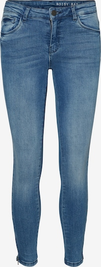 Noisy may Jeans 'NMKIMMY NW ANKLE ZIP JEANS' in blue denim, Produktansicht