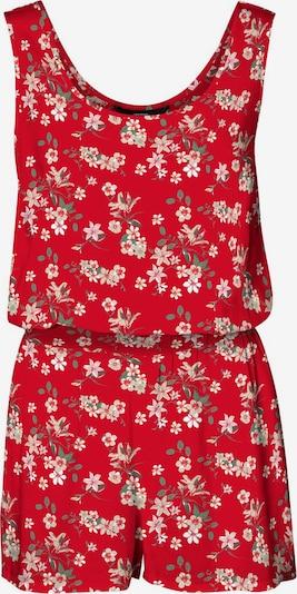 VERO MODA Jumpsuit in de kleur Groen / Rood / Wit, Productweergave