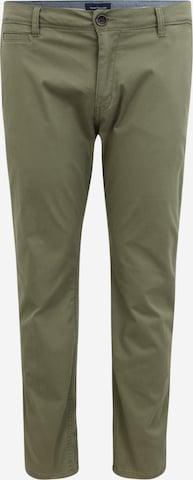 Pantalon chino TOM TAILOR Men + en vert