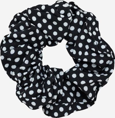 EDITED Haargummi 'Lua' in schwarz / weiß, Produktansicht