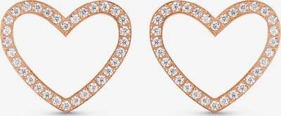 Guido Maria Kretschmer Jewellery Ohringe in rosegold / weiß, Produktansicht